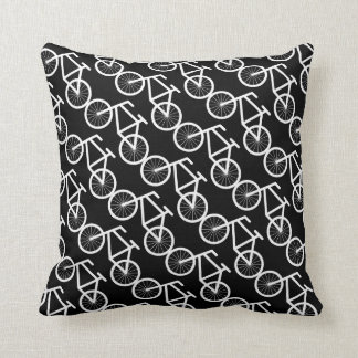 Bicycle throw pillow for bike riding lovers cushion