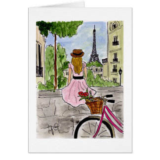 Bicycle Touring Paris Card