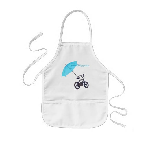 bicycle + umbrella apron