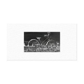 bicycle vintage canvas print