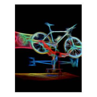 Bicycle Weathervane Postcard
