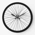 Bicycle Wheel clock (2D printed graphic)