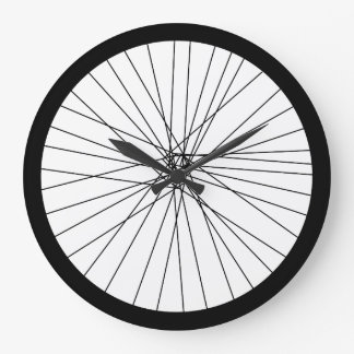 Bicycle Wheel clock (2D printed graphic)
