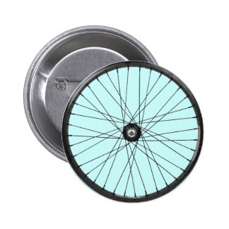 bicycle wire wheel 6 cm round badge