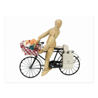 BicyclePicnicBasket120509 copy Postcard
