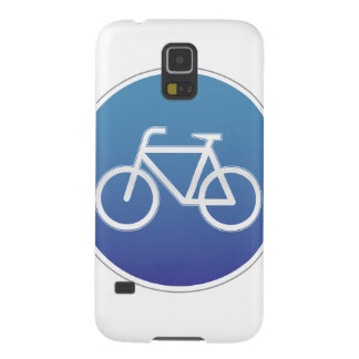 Bicycles allowed road sign galaxy s5 cases
