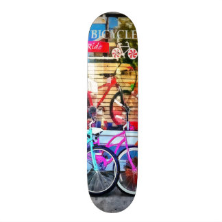 Bicycles and Chocolate Skate Board Deck