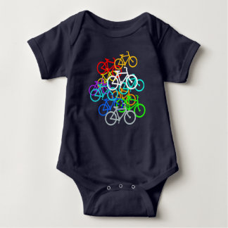 Bicycles Baby Bodysuit