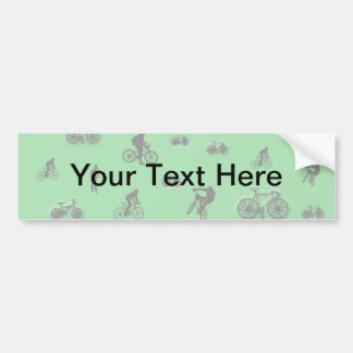 Bicycles Bumper Stickers