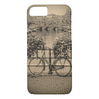 Bicycles & Canals-Classic Amsterdam-iPhone Cover