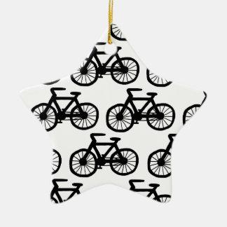Bicycles Ceramic Star Decoration