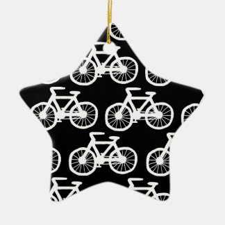 Bicycles Ceramic Star Decoration
