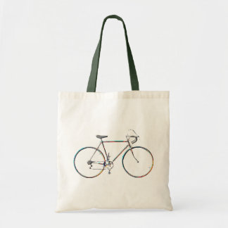 bicycles eco-friendly tote bag