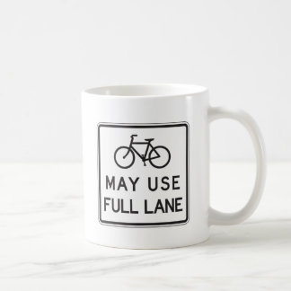 Bicycles May Use Full Lane Coffee Mug