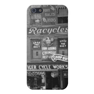 Bicycles, Motorcycles, and Chop Suey, early 1900s iPhone 5 Covers