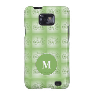Bicycles pattern samsung galaxy SII cases