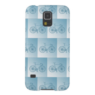 Bicycles pattern galaxy s5 cover