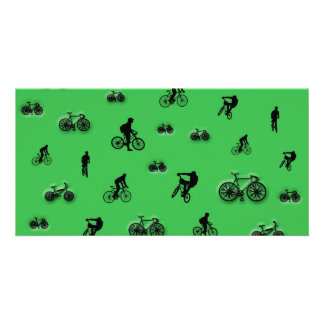 Bicycles Photo Card Template