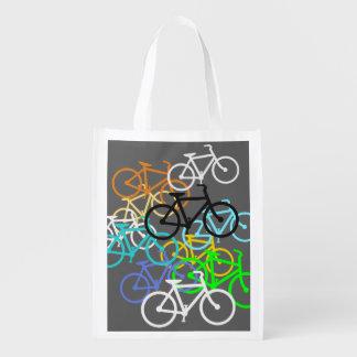 Bicycles Reusable Grocery Bag