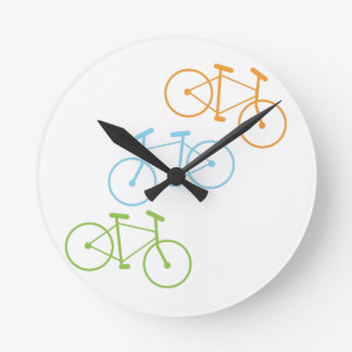 Bicycles Round Clock