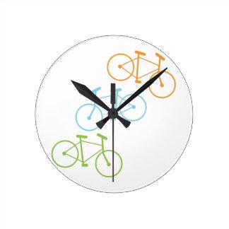 Bicycles Wall Clocks