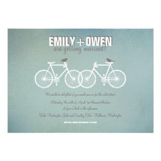 Bicycles Wedding Invitation