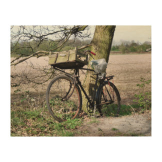BICYCLES WOOD WALL DECOR