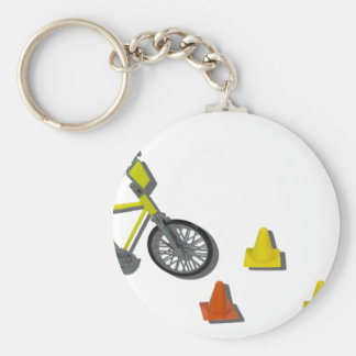 BicycleTrafficCones100711 Key Ring