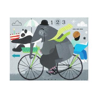 Bicyclette Canvas Print Canvas Print