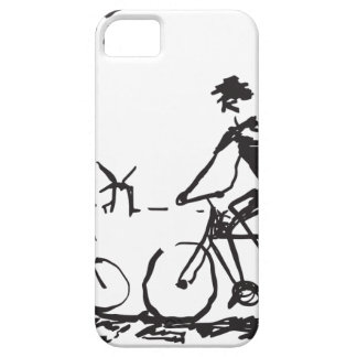 Bicycling Bike Sketch iPhone 5 Cases