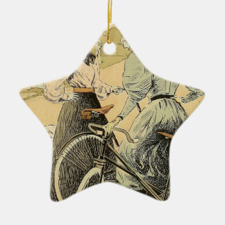 Bicycling Christmas Ornament