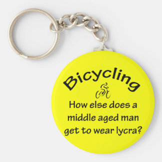 Bicycling Key Ring