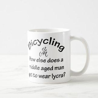 Bicycling Coffee Mugs