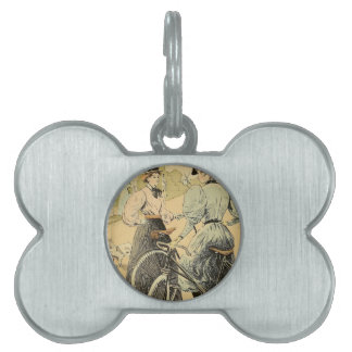 Bicycling Pet Tags