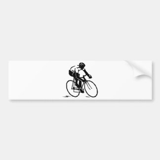 Bicyclist/Cyclist/Rider Bumper Sticker