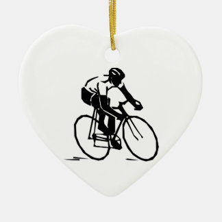 Bicyclist/Cyclist/Rider Christmas Ornament