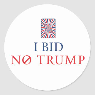 Bid No Trump Sticker