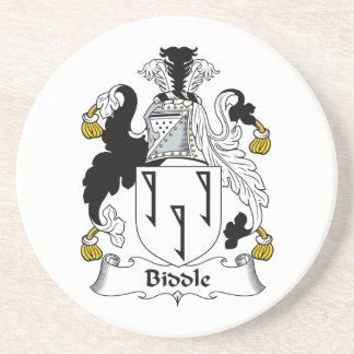 Biddle Family Crest Coasters