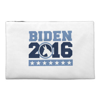 BIDEN 2016 ROUND DONKEY -.png Travel Accessory Bags