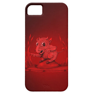 BIDI ALIEN EVIL iPhone SE + iPhone 5/5S  BARELY TH Case For The iPhone 5