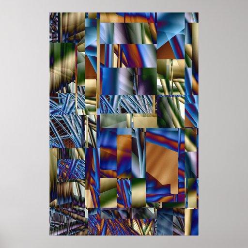 Bidimensional universe II Poster