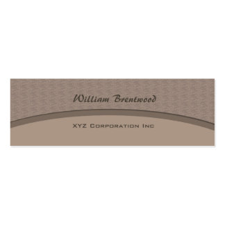 Biege Grey curve Business Card Templates