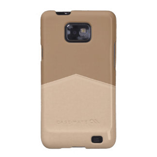 Biege Tan Simple Point Samsung Galaxy SII Covers