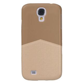 Biege Tan Simple Point Samsung Galaxy S4 Cases
