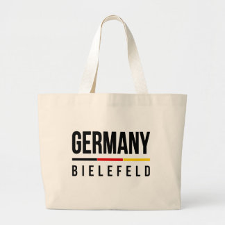 Bielefeld Germany Large Tote Bag