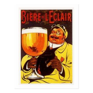 Biere de L'eclair Postcard
