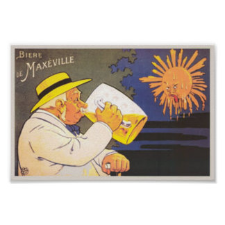 Biere de Maxeville Poster