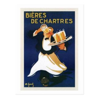 Bieres de Chartres Postcard