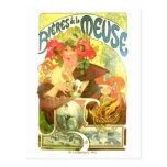 Bières de la Meuse, Alphonse Mucha