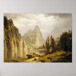Bierstadt Albert Merced River Yosemite Valley Poster